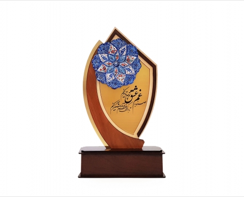 تندیس میناکاری اصفهان طرح عشق